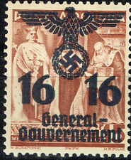 Germany Start of WW2 General Government Swastika Eagle 1939 G16 MLH