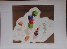 Victor VASARELY - Lithographie signée numérotée lithograph 1986 les jouets *