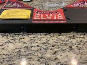 Stern Elvis Pinball Machine Apron Arch Nice Condition