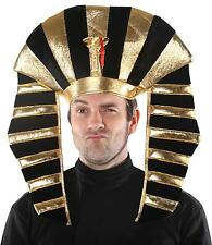 ADULT EGYPTIAN KING TUT  PHAROAH CROWN HEADPIECE HAT COSTUME MR158085