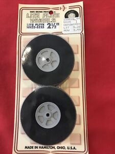 Airplane Wheels 2 1/2 Inches For Model Airplane Engine