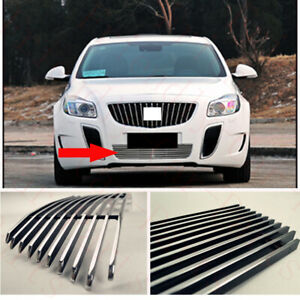 1Pcs For Buick Regal GS 2010-2014 Car Metal Front Lower Grille Cover Grid Frame