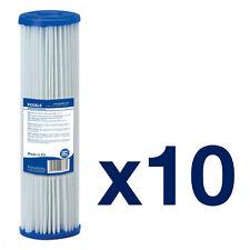 """10x 10 """" 5 Micron Lavabile Filtro Acqua Filtro riutilizzabile Bio Diesel Acqua Piovana"""