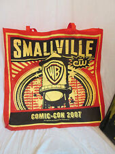 San Diego Comic-Con Large Bag 30 x 30 Red Smallville 2007