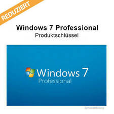 Windows 7 Professional Lizenzschlüssel Win 7 Pro Key