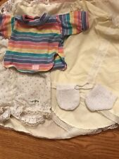 VTG 80's Cabbage Patch Kids Doll Clothes Lot Of 6 Pieces
