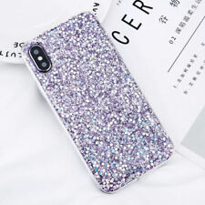 For iPhone X 8 Plus 5 6 Luxury Bling Glitter Shockproof Soft Silicone Case Cover