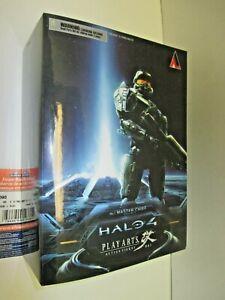 "10"" No. 1 Master Chief (complete w/ box) Halo 5 Play Arts kai (2012) Square Enix"