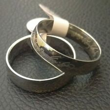 The One Ring - UK size P, LOTR Silver Stainless Steel Lord of the Rings Hobbit