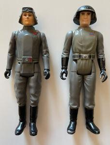 Star Wars Vintage Kenner Imperial Beater Lot Death Squad Commander & AT-AT Cmdr