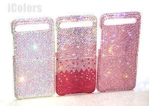 Glitter Genuine Diamond Case Fo Samsung Galaxy Z Flip 5G With SWAROVSKI ELEMENTS