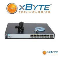 HP Aruba 2530-24G 24P 1GbE 195W PoE 4P SFP Switch J9773A