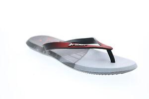 Rider R1 Energym 10719-24492 Mens Black Synthetic Flip-Flops Sandals Shoes
