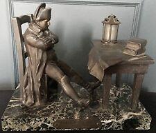 Statue Napoléon « Veille de Bataille » par E. Carlier