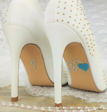 Chaussure Sticker /'je aussi/' 13 Couleurs Mariage Autocollant Chaussures Chaussure Autocollant