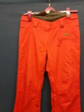QUICK SILVER SKI Pants/walking Waterproof Trousers Salopettes SLIM FIT SMALL