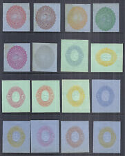 El Salvador Stationary Cut Square Lot 1890, 50+ Different Pieces - MH VF/XF*