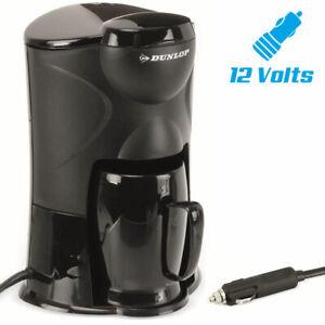 Macchina Caffe Portatile per Auto 12V Accendisigari Camper Barca 1 Tazza 170W