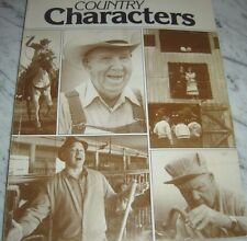 Country Characters 1989 Softcover Large Paperback