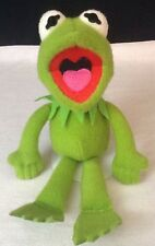 "Vintage 1991 The Muppets 14"" Kermit the Frog Plush Stuffed Doll Jim Henson"