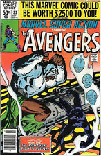 Marvel Super Action Comic Book #23 The Avengers 1980 FINE+