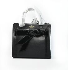 Kate Spade Bag Bow Valley Mika Black Leather New With Tag Crossbody