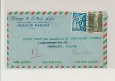 LM03137 Mozambique 1951 to Belgium airmail good cover used