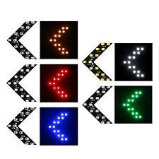 2PCS 14SMD LED Arrow Light Panels For Car Side Mirror Turn Signal Indicator Lamp