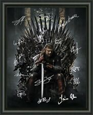 Game Of Thrones - Cast - Signed A4 Photo Poster - FREE POSTAGE