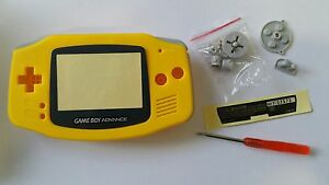 ES-BEST3DCASESSHOP CASE FULL YELLOW GAMEBOY ADVANCE NEW