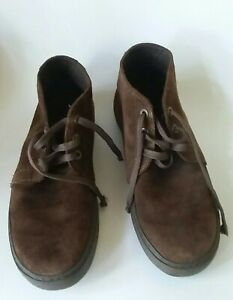 Crocs Brown Suede Lace Up Chunks Boot Men's size 10