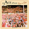 Ace - Five-A-Side on Red Colored Vinyl LP Not Bad 2014 NEW/SEALED (DamagedCover)