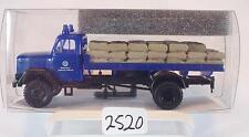 Brekina 1/87 46012 Magirus 125A LKW THW Technisches Hilfswerk OVP #2520