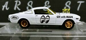 M2 Machines 1:64 ~Mooneyes~ 1966 FORD MUSTANG FASTBACK 2+2 (White)
