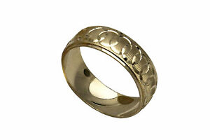 10K SOLID YELLOW GOLD MEN WOMEN WEDDING BAND RING SZ 5-13 FREE ENGRAVING