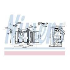 Fits BMW X5 E53 3.0d Genuine OE Quality Nissens A/C Air Con Compressor