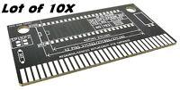 Lot 10X SEGA Megadrive cartouche de jeu PCB de remplacement ROM prototypage test