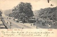 BR65535 hyde park rotten row riding horse   london   uk