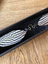 House of Malakai Nose Feather Jewelry Talon Feather Septum NEW