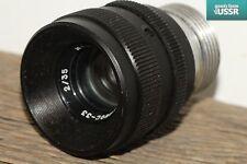 KMZ Helios-33 f2.0/35mm Rare USSR Lens for Professional Cinema Cameras M28