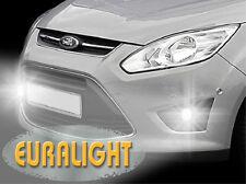 2in1 LED Tagfahrlicht + LED Nebelscheinwerfer Ford C-Max II (2012-2015) TFL NSW