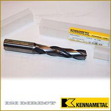 New listing B225A12300Hp Kcpk15 Kennametal Sc Drill Hp 12.3mm/.4843/ 4.9xD Coolant Drill