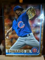 2019 Topps Series 2  Carl Edwards Jr Chicago Cubs CAMO PARALLEL 2/25 #569