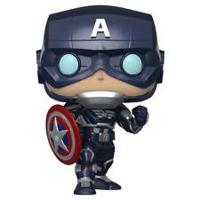 Avengers The Game Captain America Glow in the Dark Funko POP! Vinyl NEW