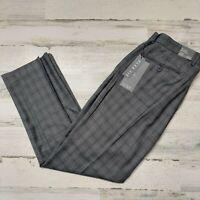 Michael Brandon Men's Size 34x30 Dress Pants Flex Slim Fit Grey MSRP $65
