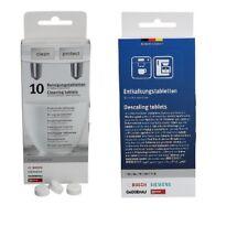 Bosch Siemens Reinigungstabletten TZ80001 + Entkalkungstabletten TZ80002