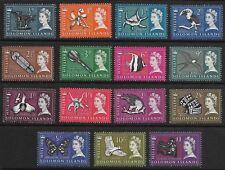Br. Solomon Islands - SG 112-126 - 1965 - Definitive Set of 15 - Unmounted Mint