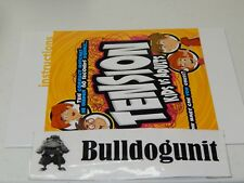 2016 Tension Kids vs Adults Board Game Replacement Instruction Manual Only