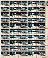 SCOTT# 1434-35  A DECADE OF ACHIEVEMENT Full Pane 50 X 8 Cents Stamps Sheet MNH