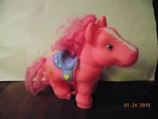 Big Pink Rubber Pony-11 in. long